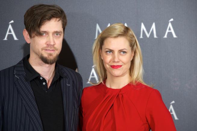Andy e Barbara Muschietti alla prima di Mama