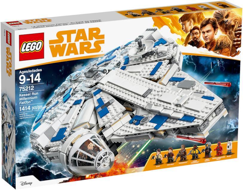 Immagine del Millennium Falcon LEGO
