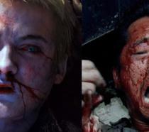 Joffrey di GOT morto avvelenato e Glenn seriamente in pericolo in una scena di TWD