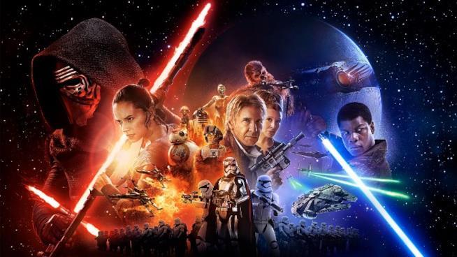 Il Poster Ufficiale di Star Wars: Il Risveglio della Forza