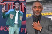 Caleb McLaughlin e Idris Elba