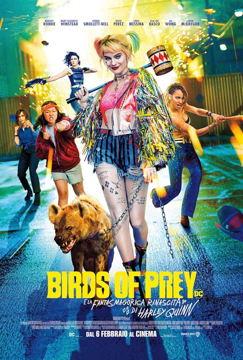 Harley Quinn e le protagoniste di Birds of Prey nel nuovo poster