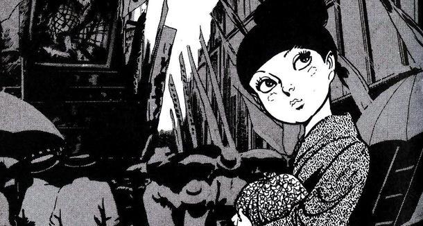 Tsuru, la giovane protagonista di Una Gru Infreddolita - Storia di una Geisha