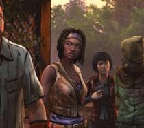 Michonne e il suo gruppo in What We Deserve