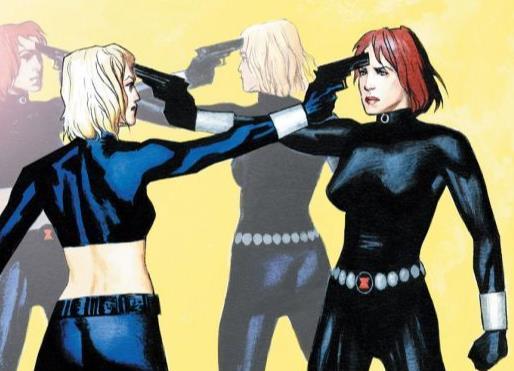 Dettaglio della cover di Black Widow #3
