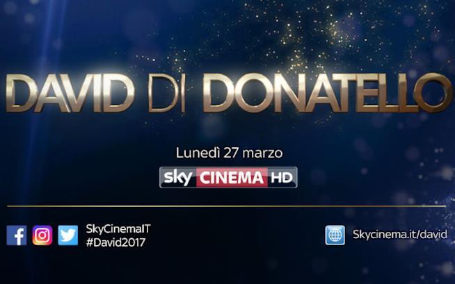 David di Donatello: lunedì 27 marzo su SkyCinema HD