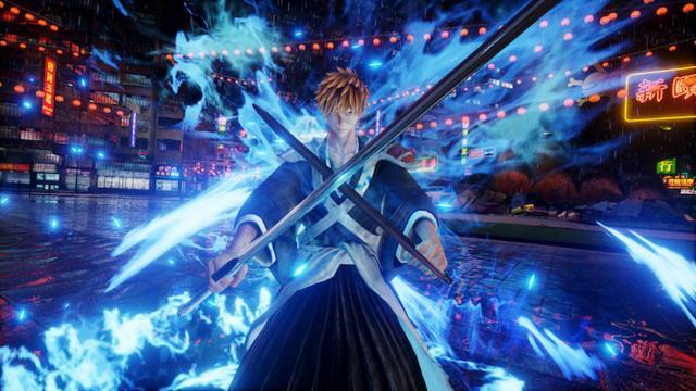 Ichigo con le sue spade in Jump Force
