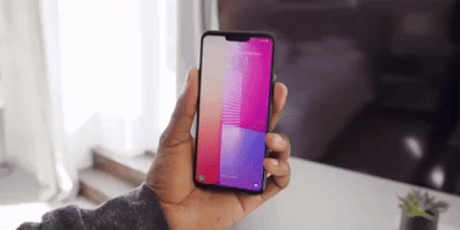 Il funzionamento di Hand ID su LG G8 ThinQ