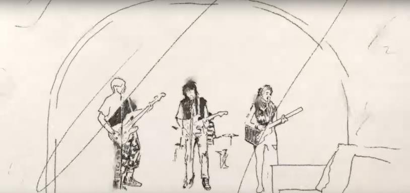 Una sequenza del video di Take on Me, dei Weezer