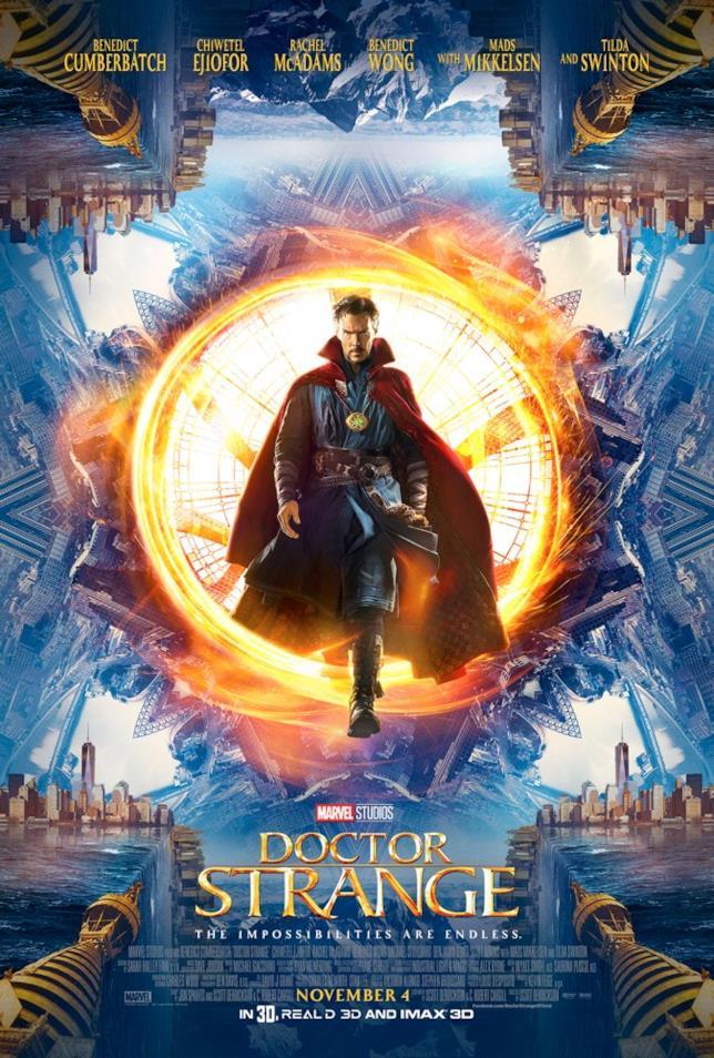 Benedict Cumberbatch è Doctor Strange nel poster del Comic-Con 2016