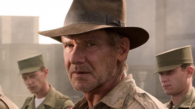 Una scena di Indiana Jones