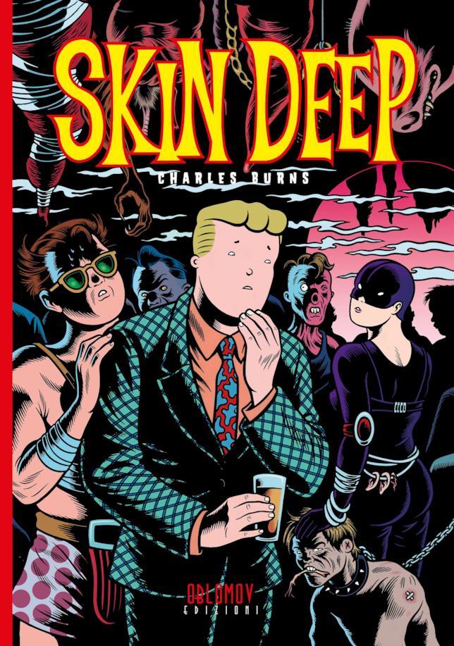 La cover del fumetto di Charles Burns
