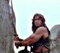 Scena del film Conan il barbaro
