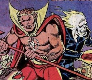 Ghost Rider e Daimon Helstrom: i personaggi nei fumetti