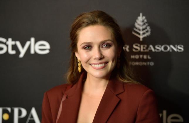 L'attrice Elizabeth Olsen e il suo sorriso