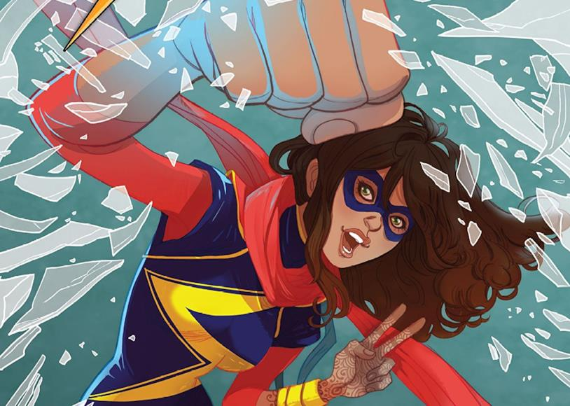 Cover di Ms. Marvel Vol. 3: Crushed