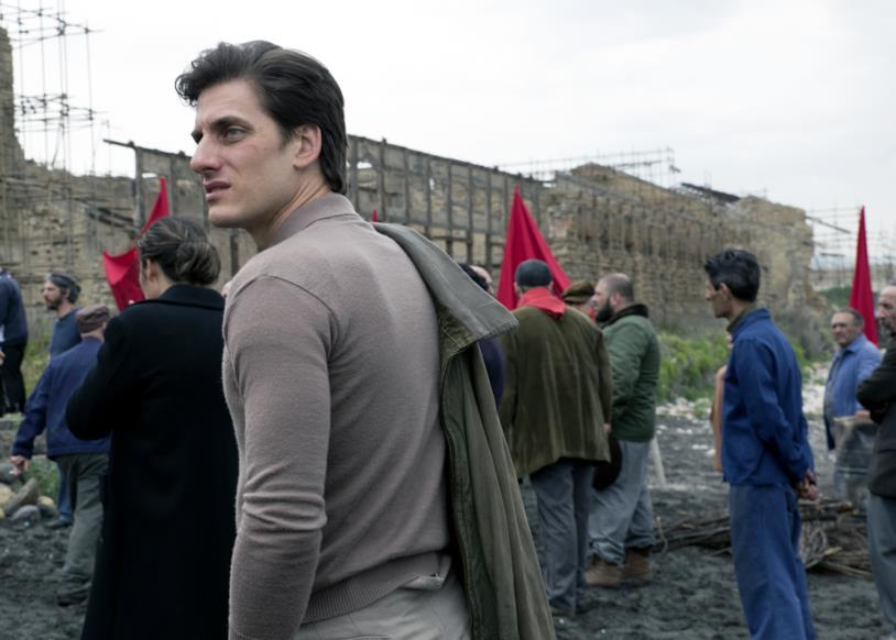 Luca Marinelli nel film
