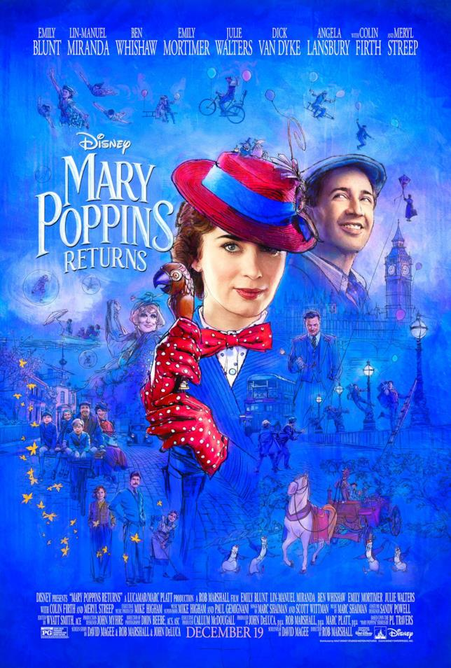 Il ritorno di Mary Poppins: poster