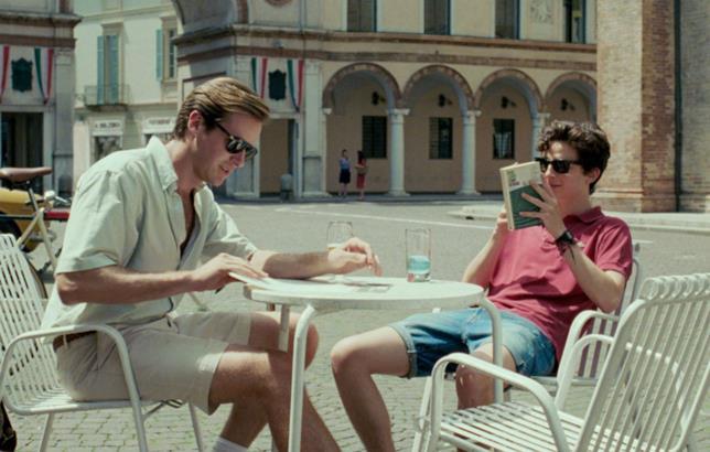 Un'immagine tratta dal film di Luca Guadagnino, Chiamami col tuo Nome