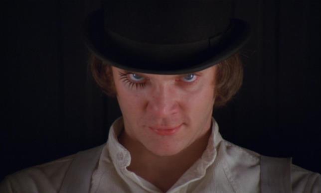 Arancia meccanica di Stanley Kubrick