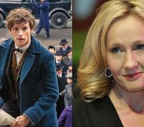 Newt Scamandro e J.K. Rowling