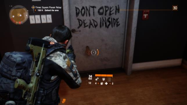 The Division omaggia The Walking Dead