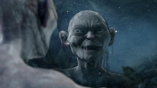 Le due personalità di Gollum nel celebre monologo del film