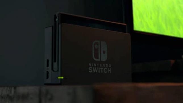 Nintendo Switch collegata alla TV