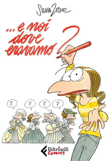 La copertina de nuovo fumetto di Silvia Ziche