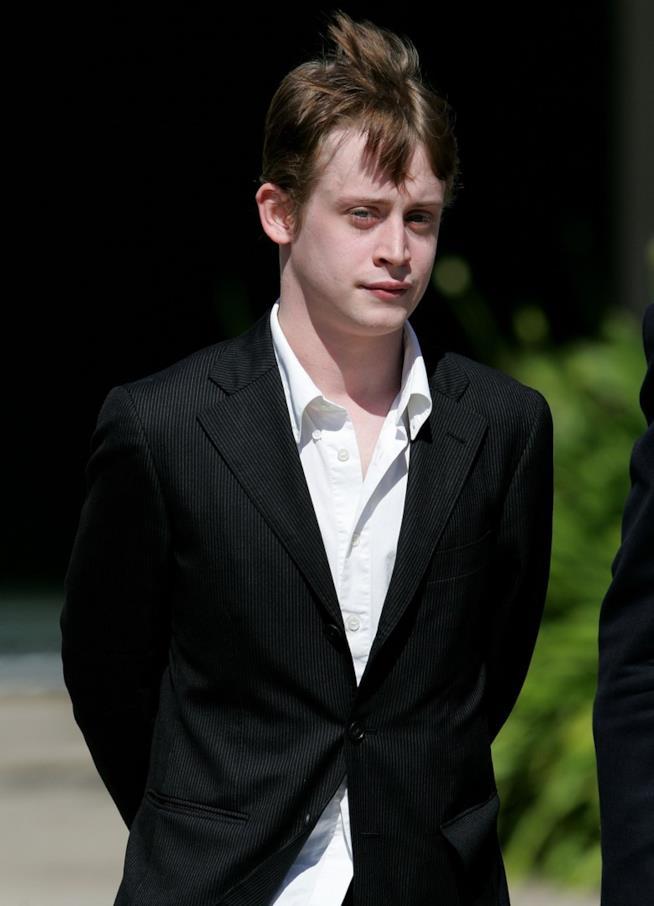 Macaulay Culkin in primo piano