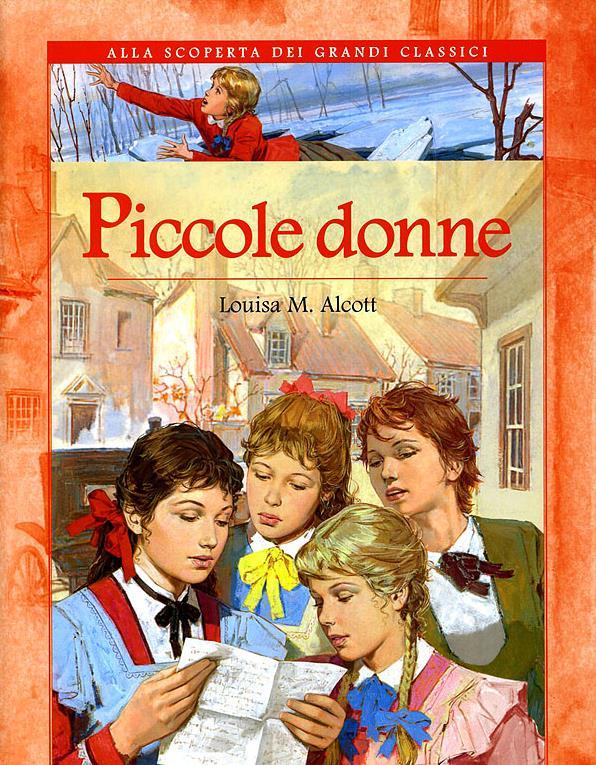 La copertina del romanzo di Louisa M. Alcott
