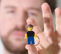 Minifigure LEGO personalizzata di Brick Yorself