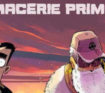 Particolare della cover di Macerie Prime, nuovo libro di Zerocalcare