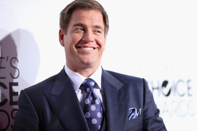 Michael Weatherly sorridente ai People Choice Awards