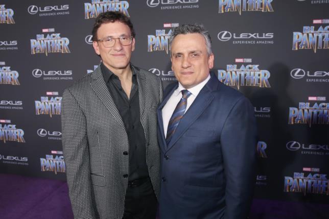 Anthony e Joe Russo alla premiére di Black Panther