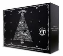 Il calendario dell'avvento Jack Daniel's, ovviamente alcolico