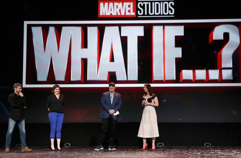 Kevin Feige e Hayley Atwell presentano What If...?