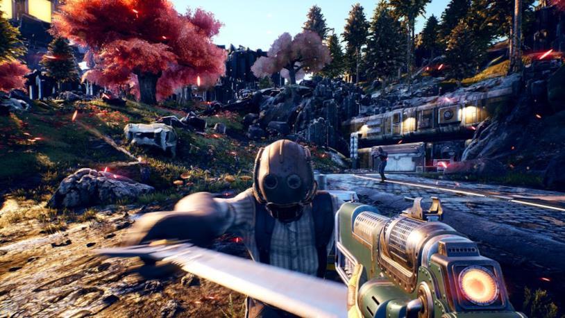 Uno screenshot promozionale da The Outer Worlds