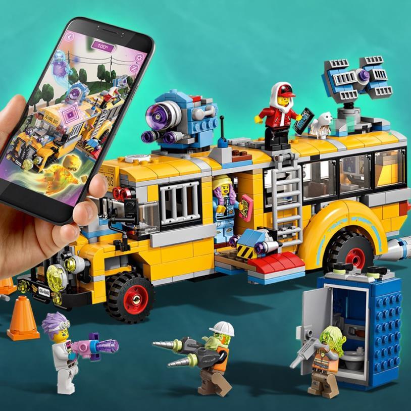 LEGO Hidden Side: gioco con mattoncini e app per la realtà aumentata sul cellulare