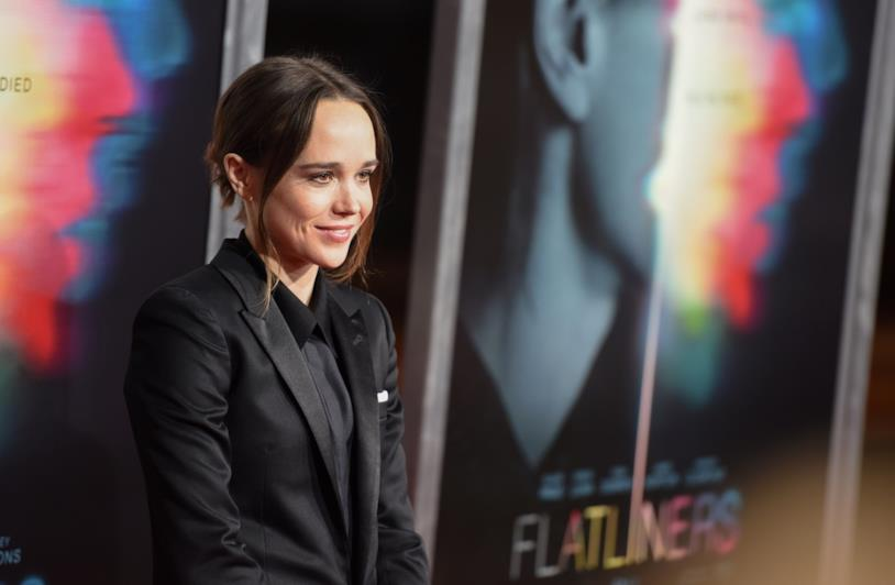Ellen Page sul red carpet