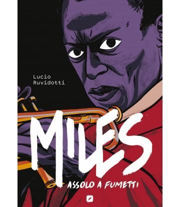 La copertina della biografia a fumetti dedicata a Miles Davis