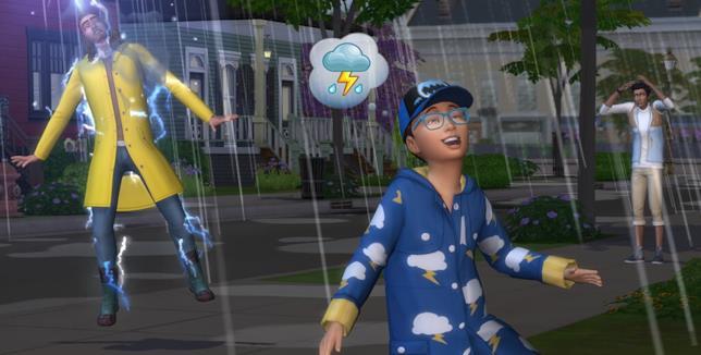 The Sims 4 Stagioni è un titolo Electronic Arts
