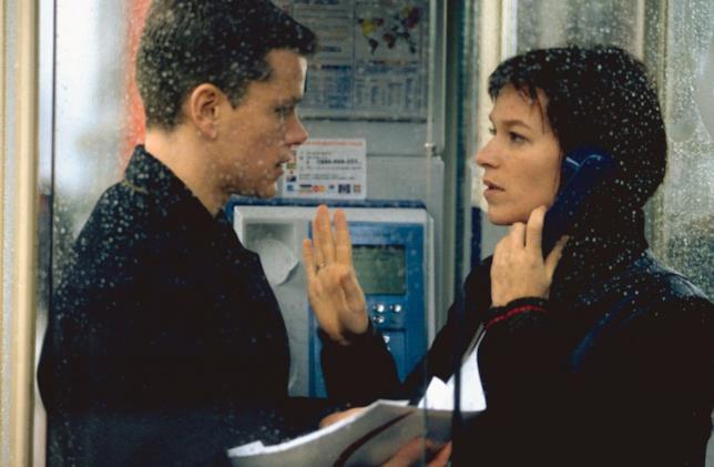 The Bourne Identity scena