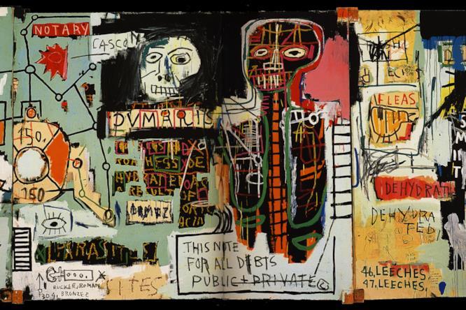La serie The Dutch Settler di Jean-Michel Basquiat mostra l'influenza che il manuale Gray's Anatomy ha avuto sul writers e artista statunitense