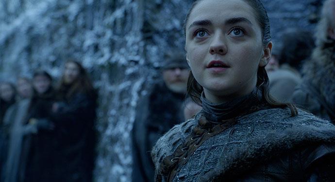 Arya nel nuovo video di HBO