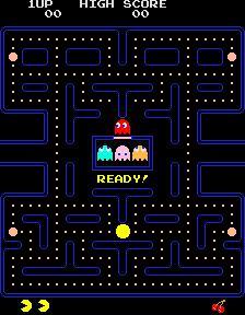 Il gioco di Pac-Man su Messenger