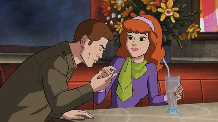 Dean e Daphne nel crossover ScoobyNatural