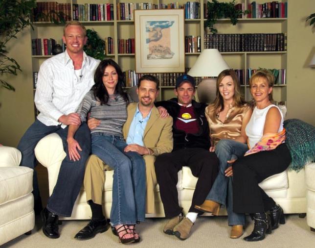 Alcuni membri del cast delle prime stagioni