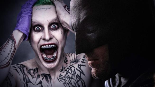 Il Joker di Jared Leto e il Batman di Ben Affleck
