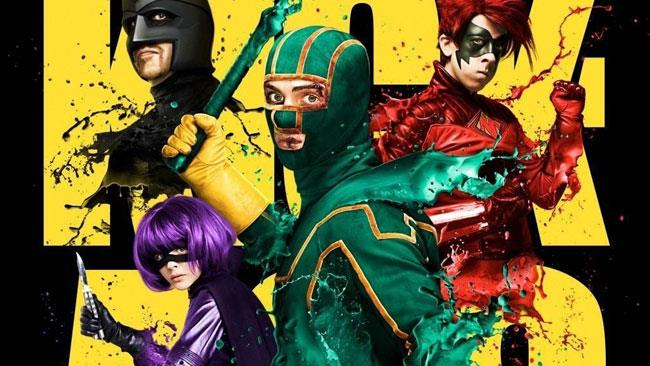 I protagonisti del film di Kick-Ass
